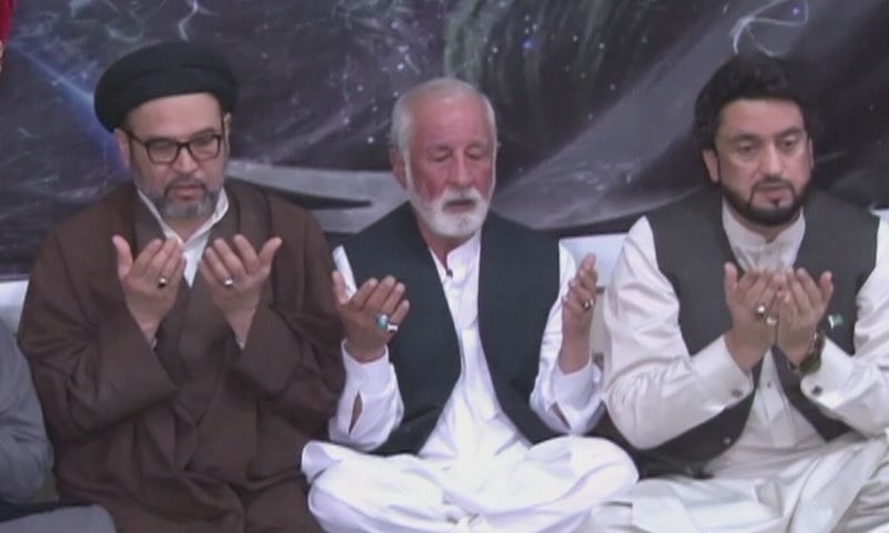 State Minister for Interior, Sheharyar Afridi, visited members of the Hazara community in Quetta on Monday. — DawnNewsTV
