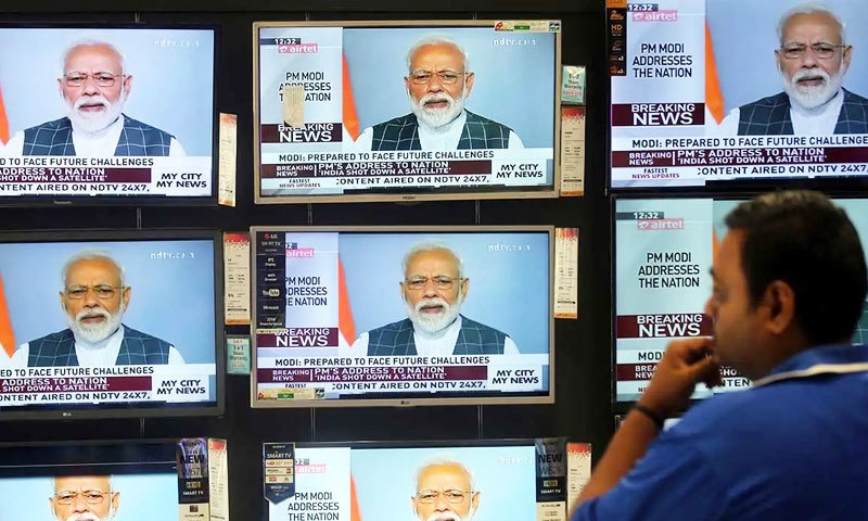 بھارتی میزائل تجربے کا اعلان نریندر مودی نے کیا تھا—فوٹو: اسپیس نیوز