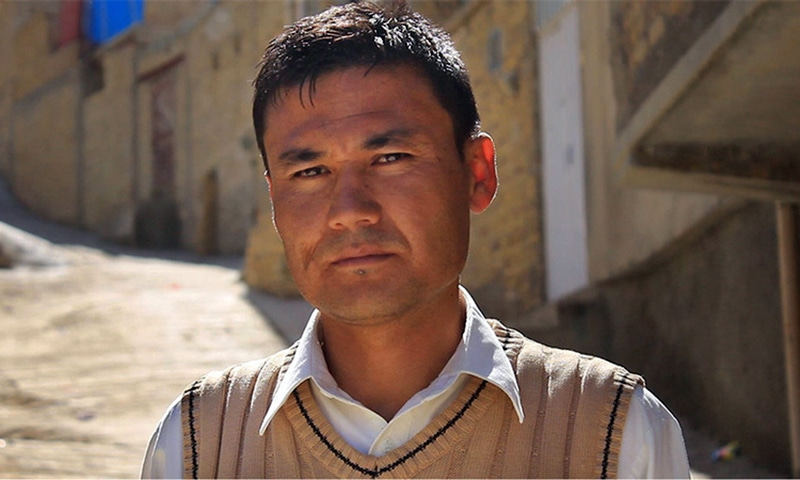A member of Hazara community is seen in this file photo. — Courtesy of Nadir Siddiqui