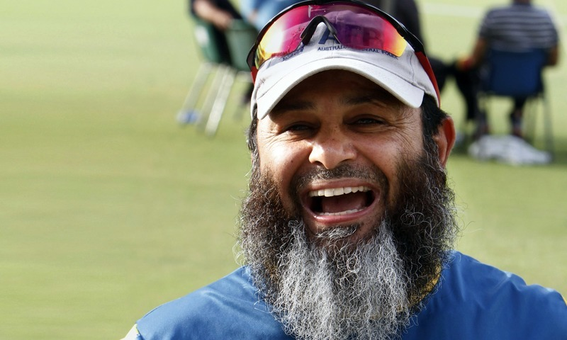 Former Test leg-spinner Mushtaq Ahmed. — AP/File