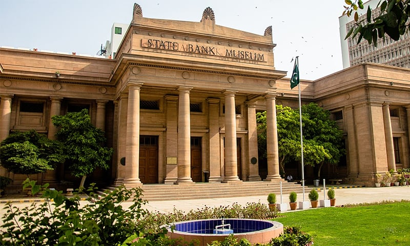 The old State Bank of Pakistan building, now known as the State Bank Museum. ─ Wikimedia Commons