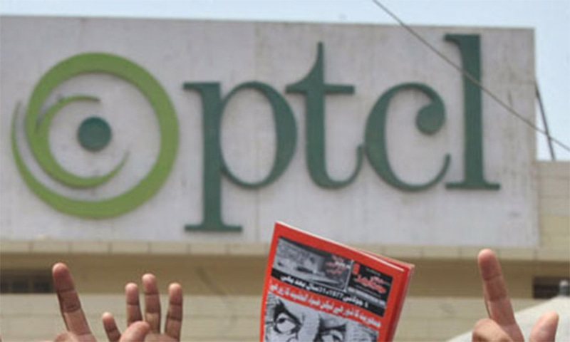The PTCL Group's revenue for the quarter has grown by 11pc to Rs33.5bn as a result of accelerated growth in the Ufone and UBank revenues. ─ File photo