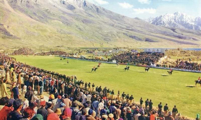 Gilgit-Baltistan tourism minister Fida Khan on Thursday said the teams of Afghanistan and Tajikistan would be invited to the annual Shandur polo festival to celebrate it as an international event. — Photo by Zahiruddin/File