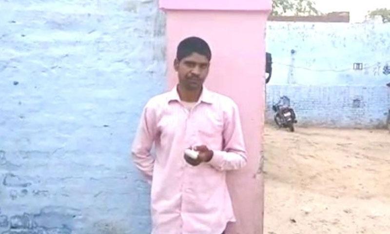 مذکورہ شخص مقامی سیاسی جماعت کو ووٹ دینا چاہتا تھا —تصویر: اسکرین شات
