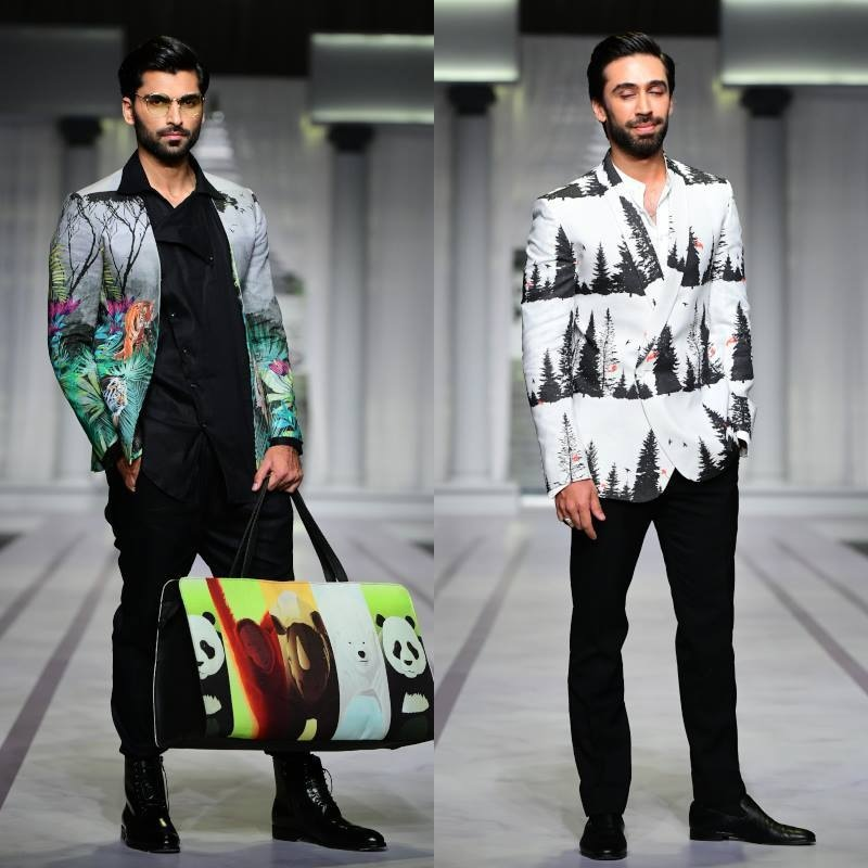 Take a trip down the jungle with Deepak & Fahad's new collection