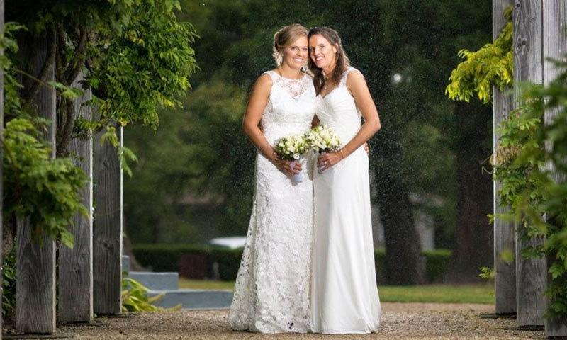سب سے پہلے ایمی سیٹرویٹ اور لی تہاؤ نے شادی کی تھی—فوٹو: اسٹف ڈاٹ این زیڈ
