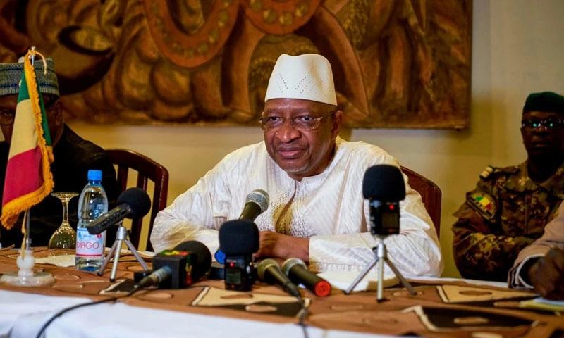 مالی کے وزیر اعظم سومیلاؤ بوبیی میگا — فوٹو: اے ایف پی