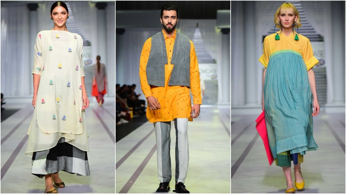 Umer & Imrana brought a fresh twist to handloomed pret