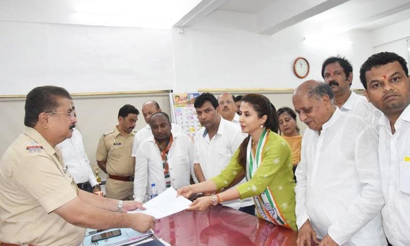 ارمیلا شمالی ممبئی سے انتخاب لڑ رہی ہیں—فوٹو: انسٹاگرام