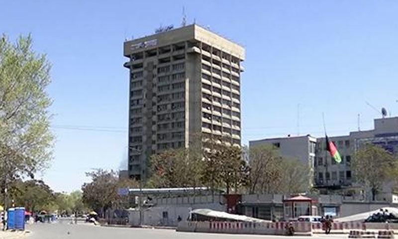 کابل پولیس چیف کے مطابق 2 حملہ آوروں کو ہلاک کردیا گیا — فوٹو بشکریہ طلوع نیوز