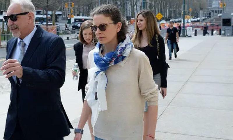 کلیر برونفمین ارب پتی شخص کی بیٹی ہیں—فائل فوٹو: نیو یارک ٹائمز