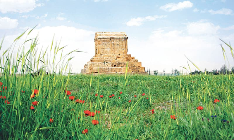 Cyrus's mausoleum in Pasargadae is an austere six-tiered stone structure that once contained his golden casket | Photos from the book