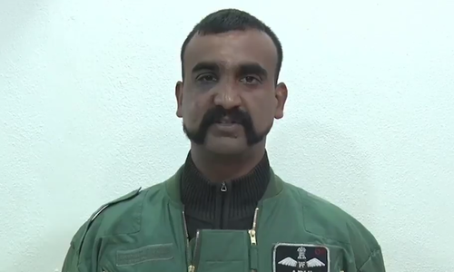 The IAF pilot went on leave in mid-March after security agencies completed a nearly two-week debriefing following his return from Pakistan. ─ DawnNewsTV