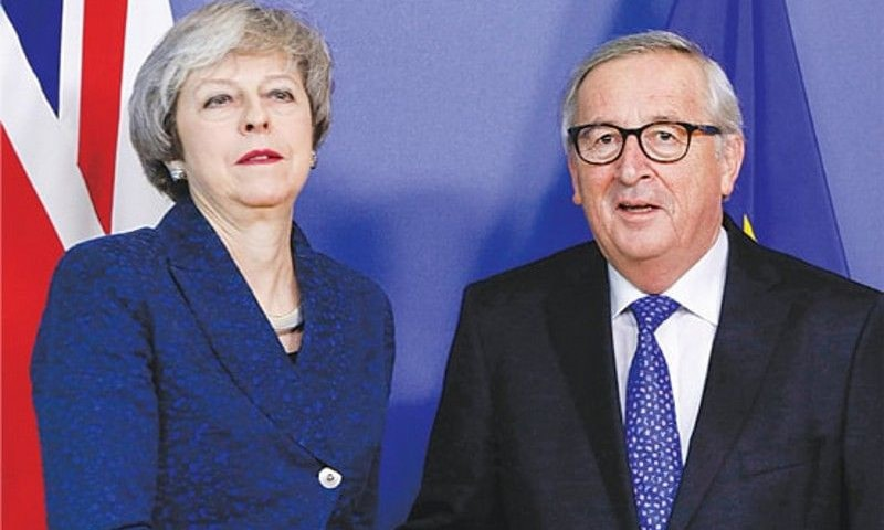 """European Commission President Jean-Claude Juncker hopes Britain will """"make use of this time and not waste it again"""". ─ AFP/File"""