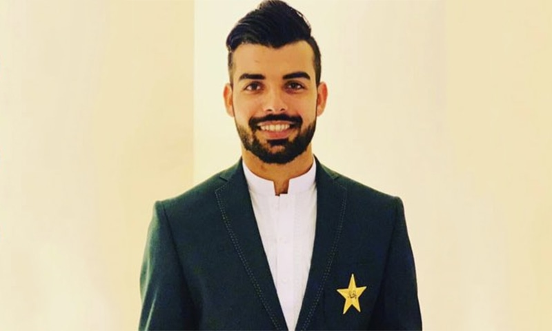 Wrist spinner Shadab Khan was ruled out of the series against England due to a virus. ─ Photo courtesy Shadab Khan Twitter