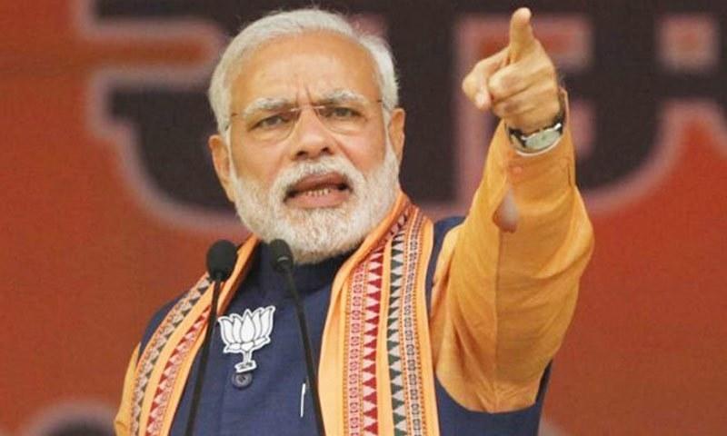 اگر کانگریس رہنما ضمانت پر رہائی کے بعد الیکشن لڑ سکتے ہیں تو بی جے پی کی امیدوار پر ہنگامہ کیوں؟ نریندر مودی — فائل فوٹو: انڈیا ڈاٹ کام