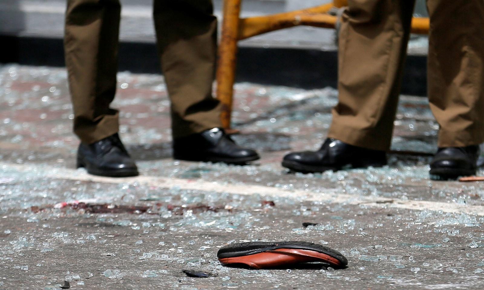 بم دھماکے دھماکے ایسٹر کی تقریبات کے موقع پر 3 مسیحی عبادت گاہوں میں ہوئے — فوٹو:رائٹرز