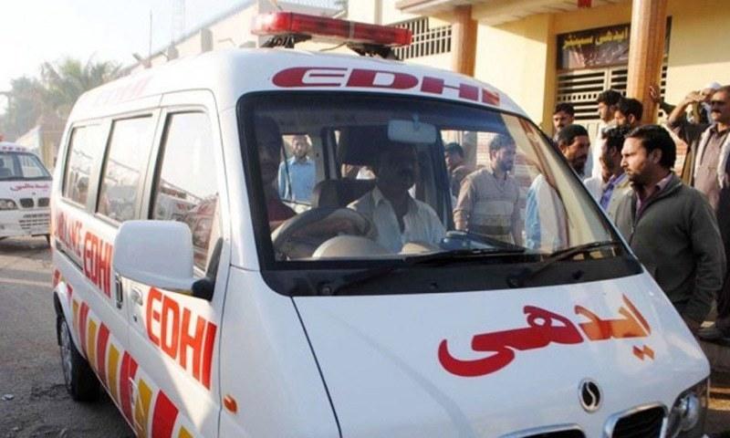 ایدھی فاؤنڈیشن کے مطابق اتوار کی رات کو قتل کاواقعہ پیش آیا—فائل/فوٹو:ڈان