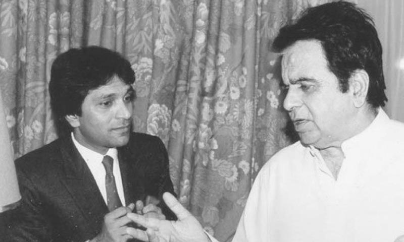 WITH Dilip Kumar