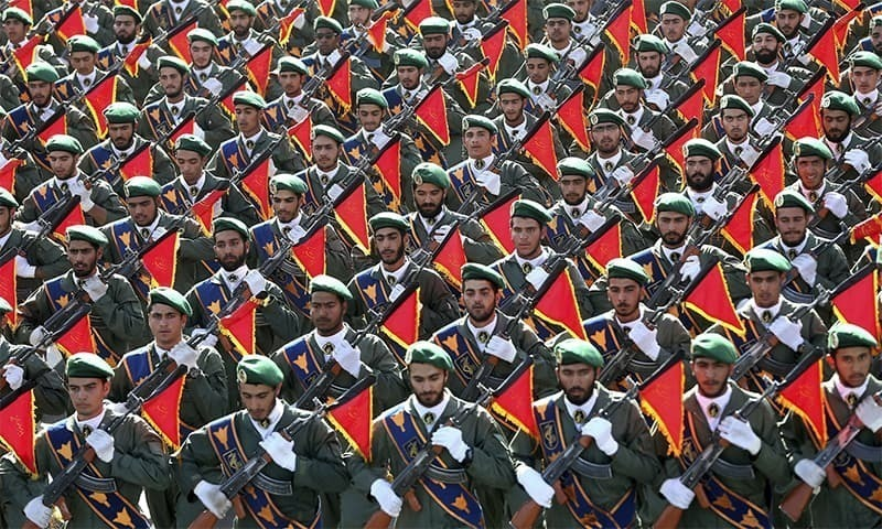 The IRGC is a powerful faction in Iran that controls a business empire as well as elite armed and intelligence forces. — AP/File