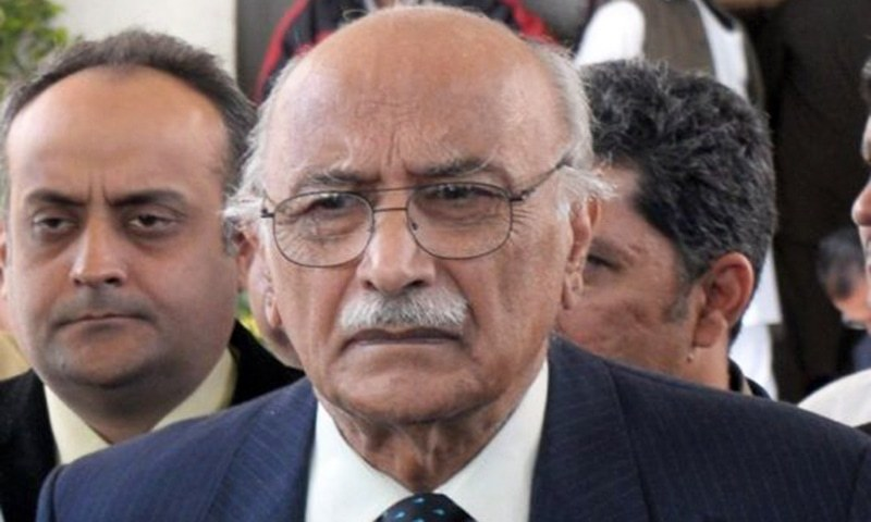 The Supreme Court is hearing a case on the implementation of the verdict in the Asghar Khan (pictured) case. ─ File photo