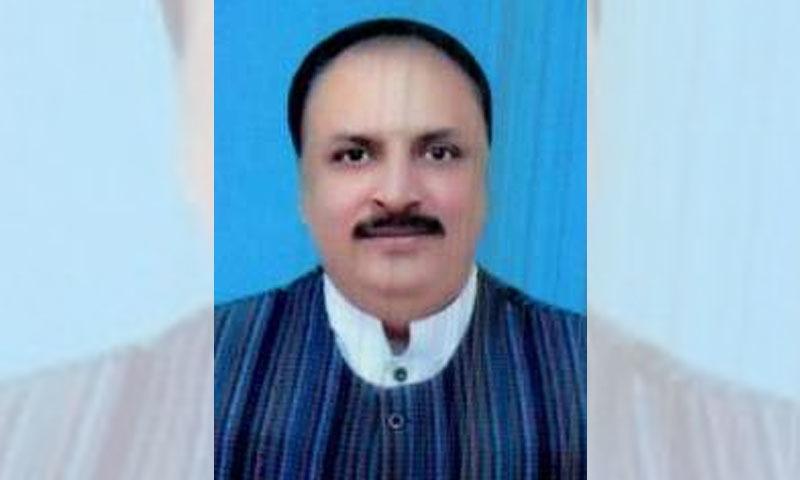 صوبائی وزیر ذراعت ملک نعمان لنگریال —تصویر بشکرئی پنجاب اسمبلی ویب سائٹ