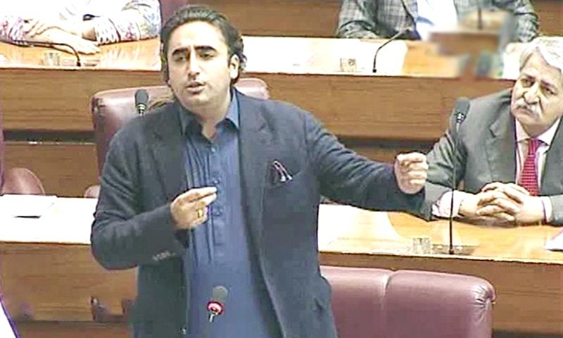 Bilawal's remarks on PM Khan, Asad Umar spark ruckus in the NA