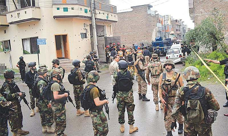 Suspects killed in Hayatabad operation involved in multiple attacks: police