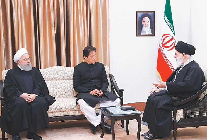 Pakistan soil used for attacks in Iran: Imran