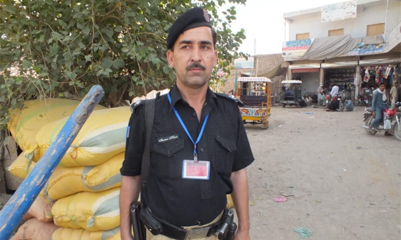 An assistant sub-inspector (ASI) in Bannu, Imran, who had been deployed at a basic health unit in Bannu to provide security to polio workers during the province-wide anti-polio drive, was gunned down by unknown gunmen while on his way to duty, police confirmed on Tuesday. — Photo provided by author