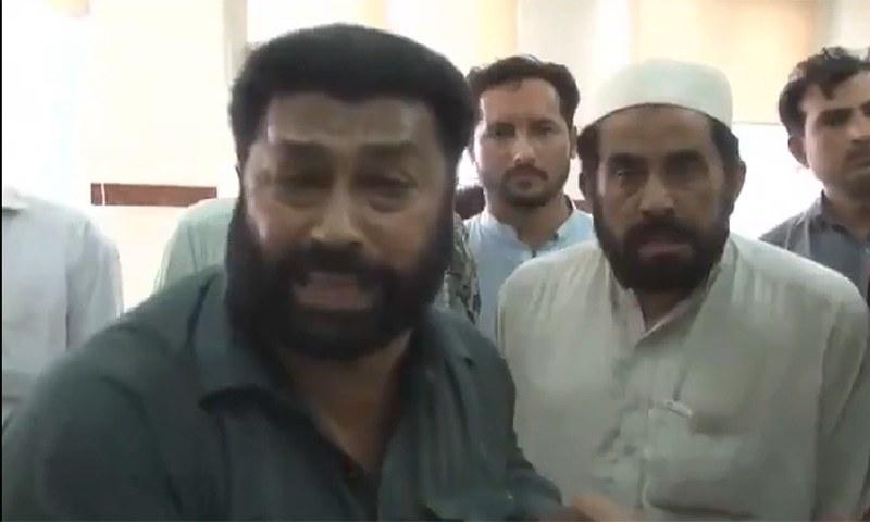 ویڈیو میں شخص کی جانب سے پولیو مہم کے خلاف باتیں کی گئی    تھیں—اسکرین شاٹ