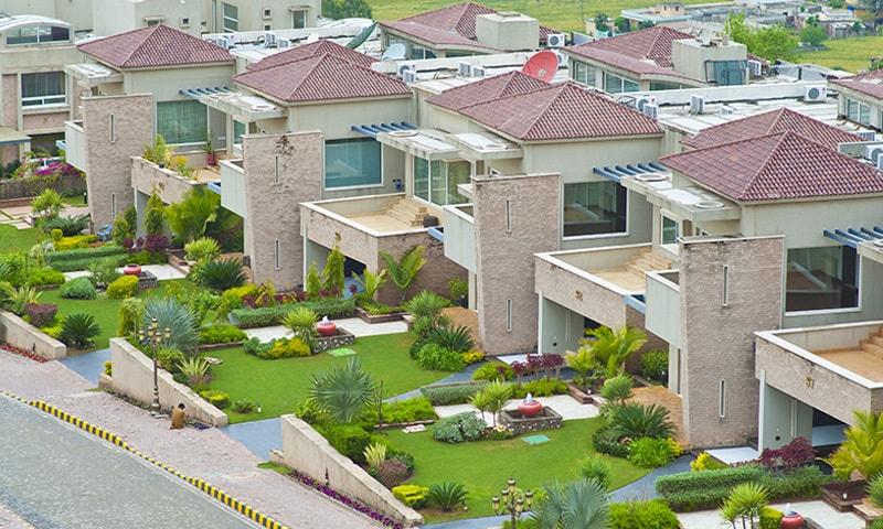 عدالت نے بحریہ ٹاؤن کراچی کے منصوبے کیلئے 460 ارب روپے کی پیشکش قبول کی تھی—فوٹو: بحریہ ٹاؤن