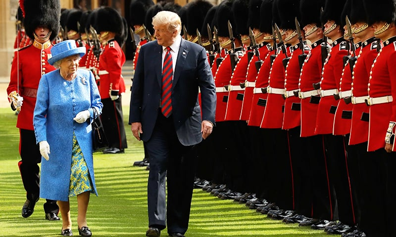 Trump accepts Queen Elizabeth's invite for UK state visit in June