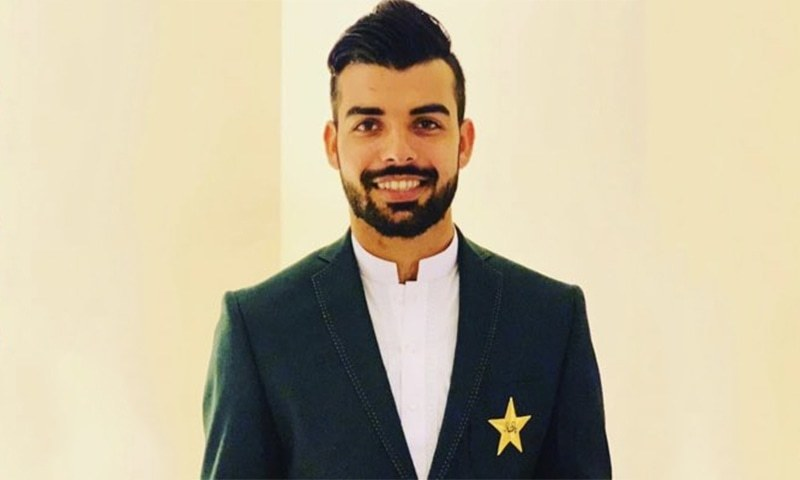 Luckless leg-spinner Shadab Khan left for London late on Tuesday to consult a specialist to cure his virus-related disease. — Photo courtesy Shadab Khan Twitter/File