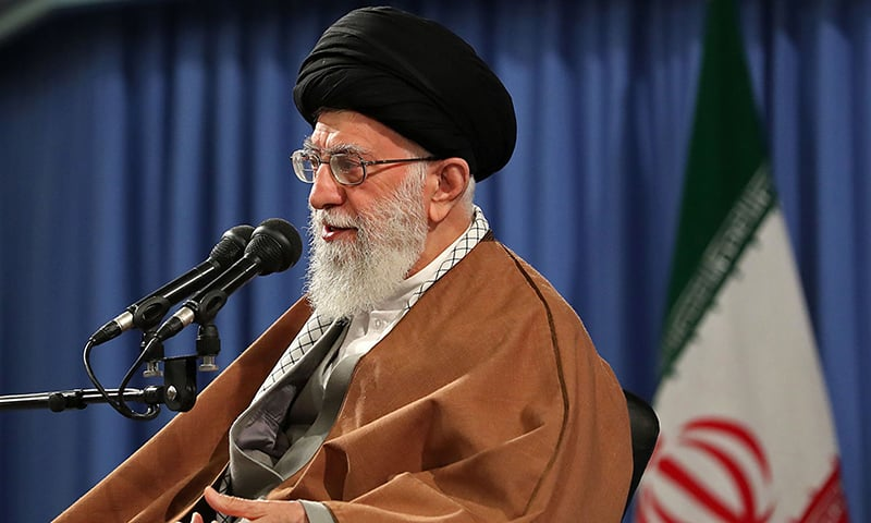 Iran's supreme leader says US oil sanctions won't go 'without response'