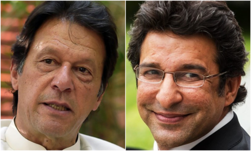 Prime Minister Imran Khan, who was Akram's and the rest of the <em>Cornered Tigers'</em> captain during that unforgettable campaign, has been picked to lead Cricinfo's fantasy line-up. Dawn/File