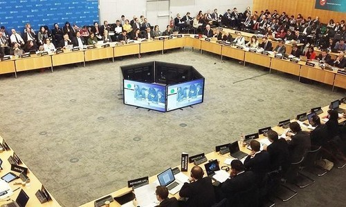 """Pakistan will fight its case before the Financial Action Task Force (FATF) on May 15 in Colombo, Sri Lanka, besides undertaking diplomatic efforts for performance-based review of its """"robust"""" compliance with global standards against money laundering and terror financing. — FATF website/File"""