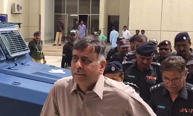 The chief suspect in the case had asked the court to exempt him from appearing in court due to security threats. — DawnNewsTV/File