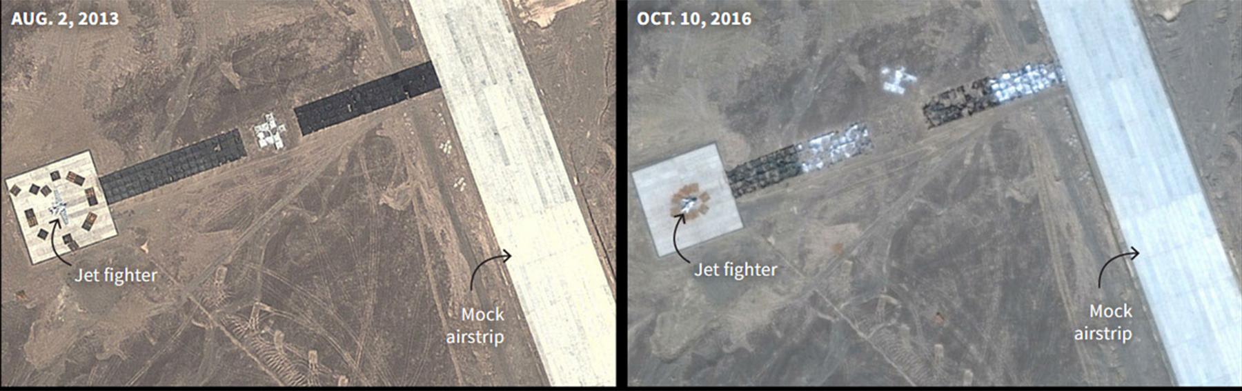 Satellite image: Google, DigitalGlobe