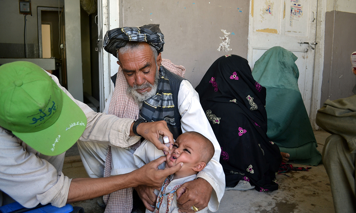 The committee said that those, who stood on the side of polio workers and showed bravery in front of the angry mob, should be given certificates of appreciation. ─ File photo courtesy Matiullah Achakzai
