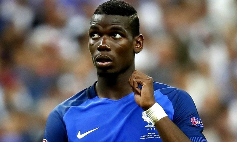 Manchester United's Paul Pogba is the only non-Manchester City or Liverpool player to be named in the Professional Footballers' Association's (PFA) Premier League team of the year on Thursday. — Reuters/File