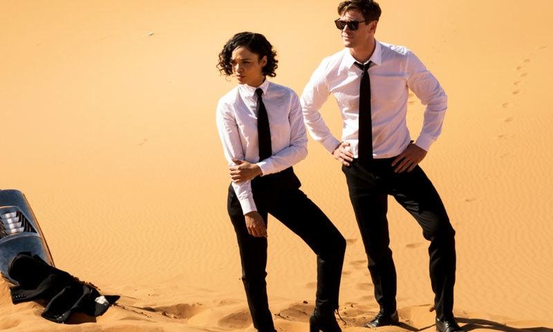 'مین ان بلیک: انٹرنیشنل' میں اداکاروں کے سحر انگیز مناظر