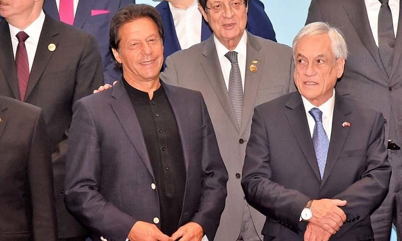 Prime Minister Imran Khan on Saturday urged for the creation of a tourism corridor between member countries of the Belt and Road Initiative (BRI) in order to promote regional connectivity. — Photo courtesy PID Twitter