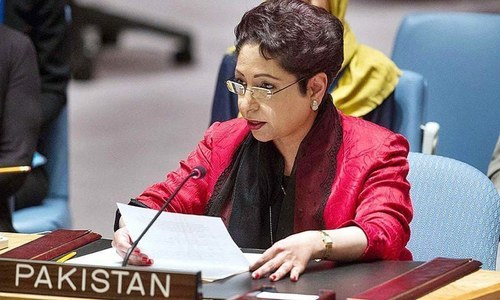 Maleeha Lodhi, Pakistan's ambassador to the United Nations is seen in this file photo.— APP/File