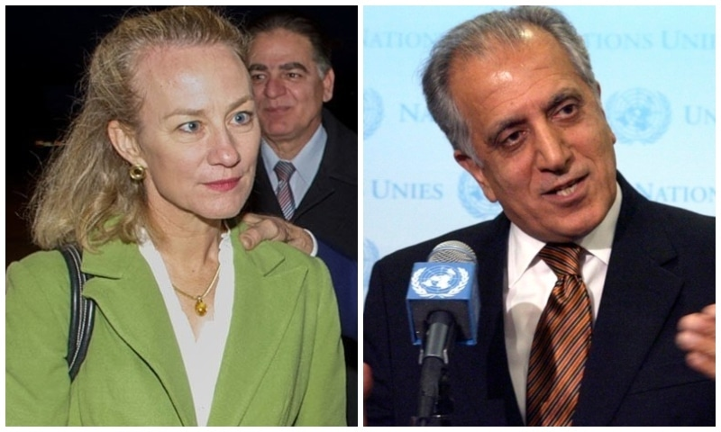 US Special Representative for Afghan Reconciliation Zalmay Khalilzad and Principal Deputy Assistant Secretary of State, South and Central Asia, Alice Wells, will be arriving the same day to participate in the negotiations. — Photos courtesy Wikimedia Commons, AP/File