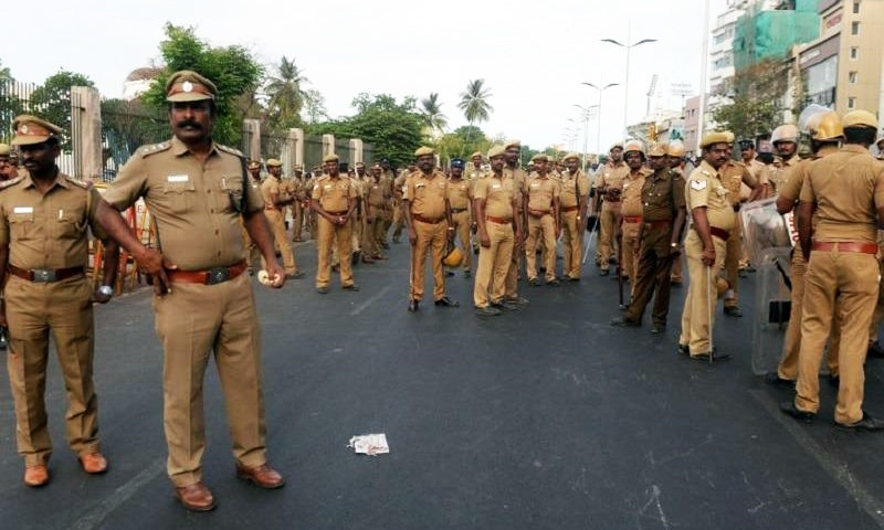 Indian police raid houses in southern state week after Sri Lanka bombings