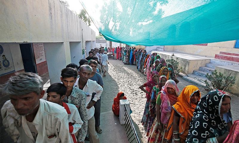 ان ریاستوں میں 12 کروڑ سے زائد افراد ووٹ ڈالنے کا حق رکھتے ہیں — فوٹو: رائٹرز
