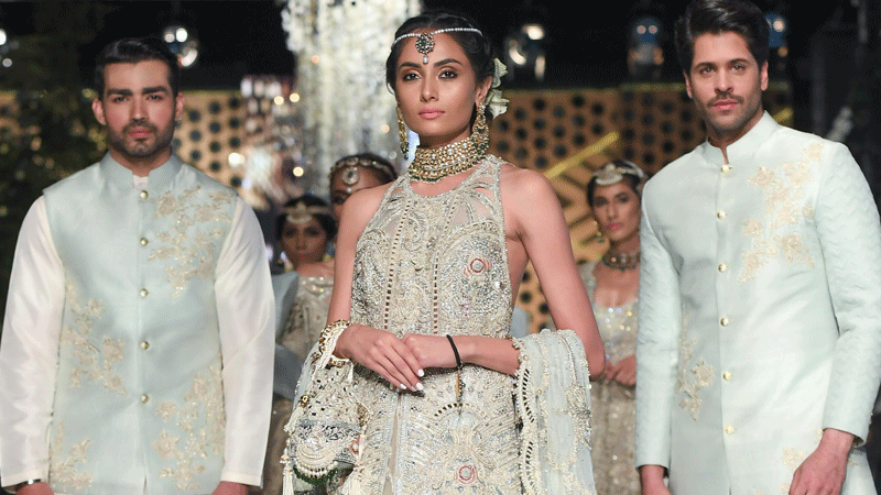 Shehla Chatoor's solo show put the spotlight on the craft of bridal fashion