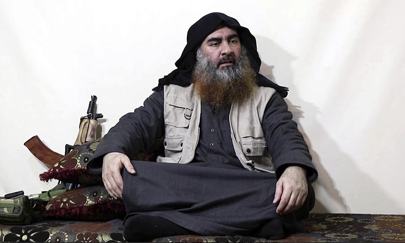 IS chief Baghdadi appears on video for first time in five years
