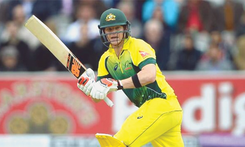 Steve Smith said his elbow was fine after landing on it heavily despite still recovering from surgery, as he prepares for his final Indian Premier League (IPL) game of the season before joining Australia's World Cup squad.